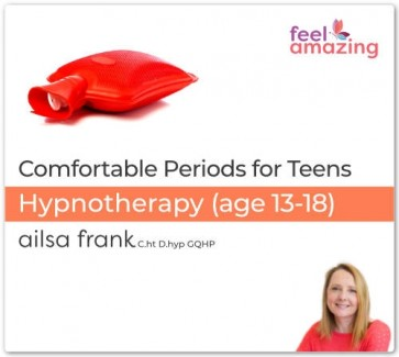 Comfortable Periods for Teenagers - Hypnosis Download App By Ailsa Frank