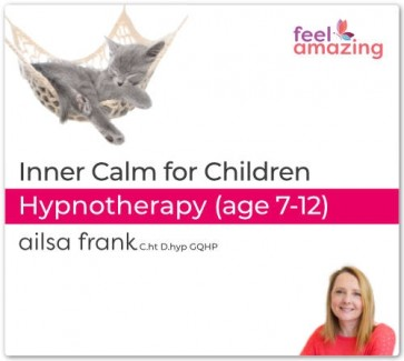 Inner Calm for Children (7-12) - Hypnosis Download App By Ailsa Frank