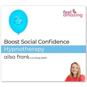 Boost Social Confidence - Hypnosis Download App by Ailsa Frank