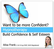 Build confidence and self esteem hypnotherapy CD and MP3 download by Ailsa Frank