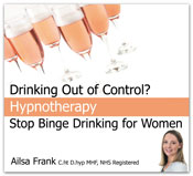 Stop binge drinking for women cd & mp3 by Ailsa frank