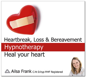 Heartbreak, Loss, & Bereavement Hypnotherapy CD & Download by Ailsa Frank