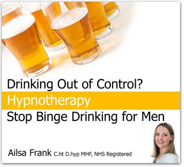 Stop Binge Drinking for Men CD photo