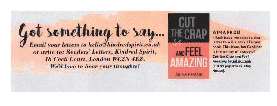 Kindred spirit article