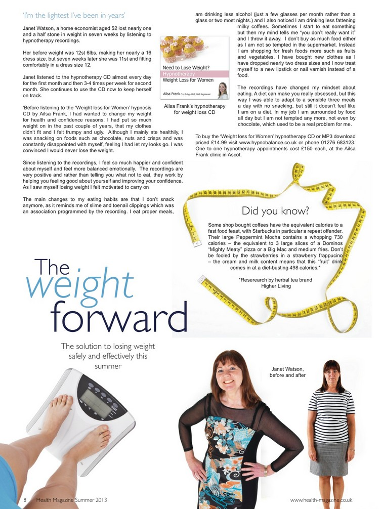 Health magazine Article