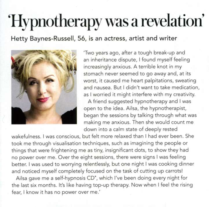 Hetty Baynes Article
